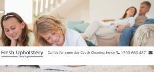 Upholstery Cleaning Banner
