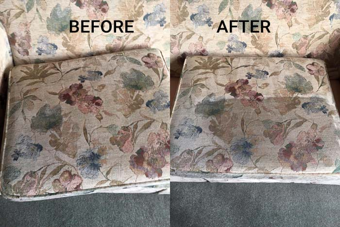 Professional Upholstery Cleaning Jeir