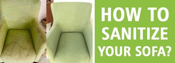 How to sanitize your sofa