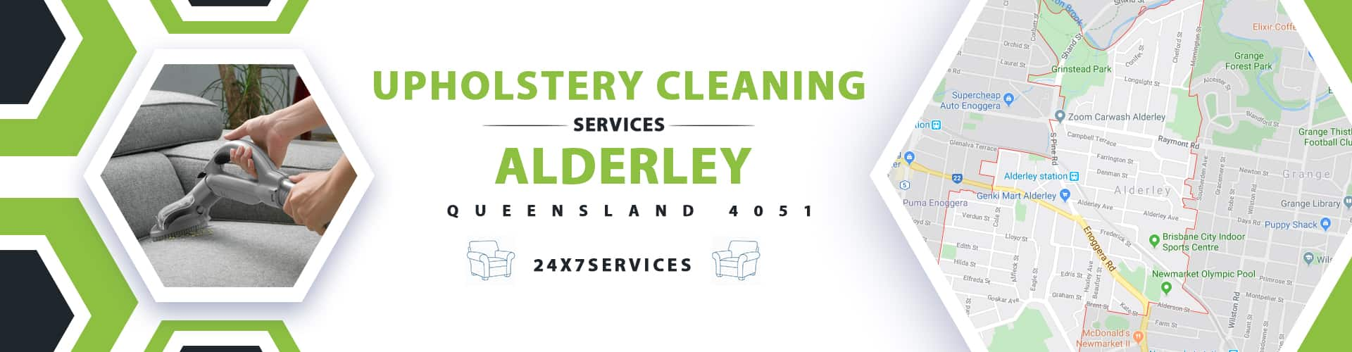 Upholstery Cleaning Alderley