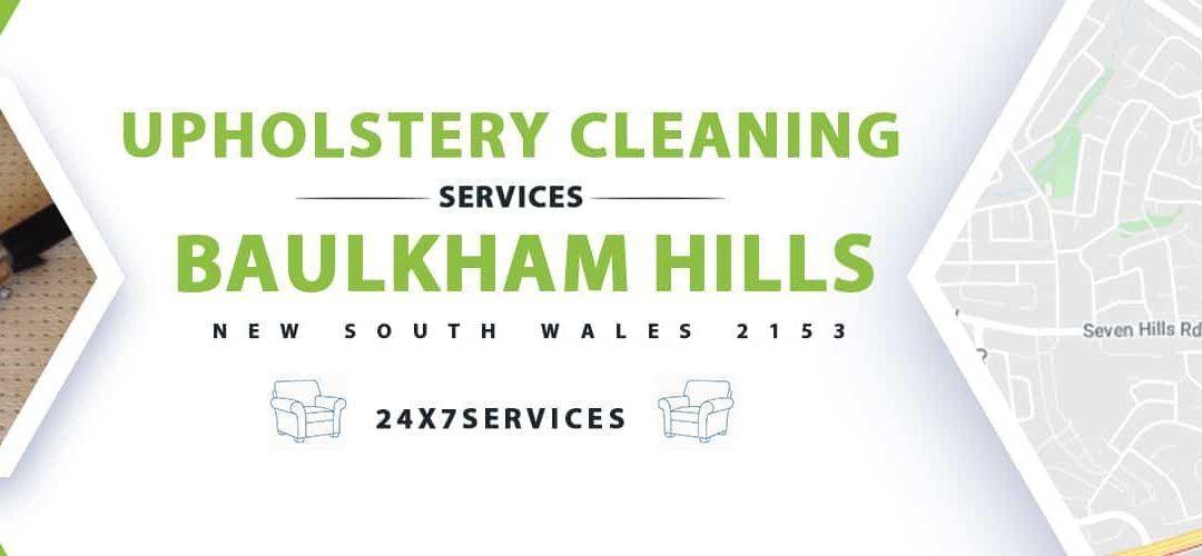Upholstery Cleaning Baulkham Hills