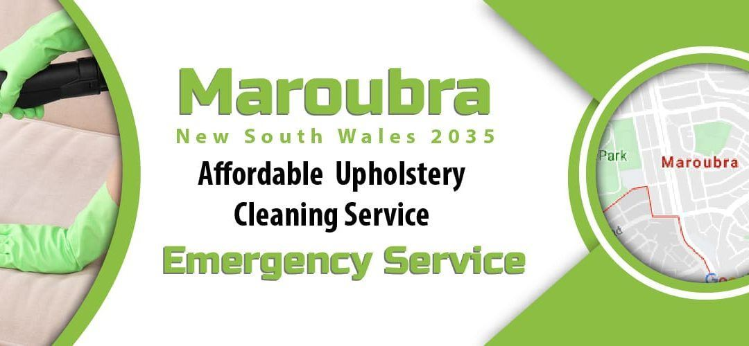 Upholstery Cleaning Maroubra