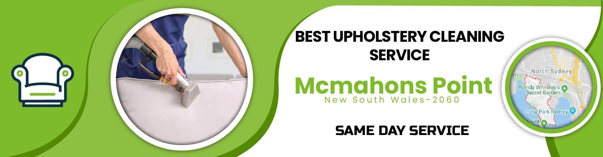 Upholstery Cleaning Mcmahons Point