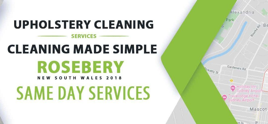 Upholstery Cleaning Rosebery