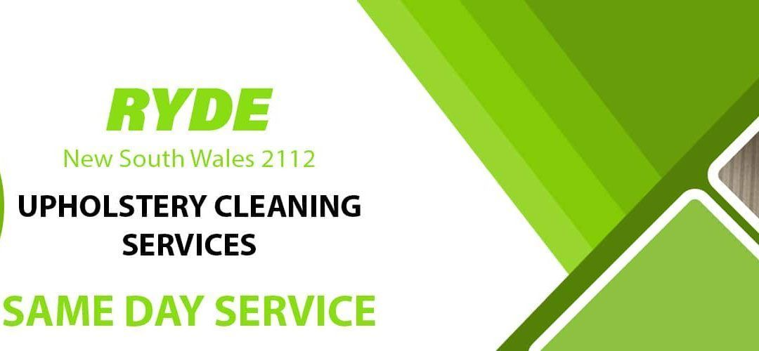 Upholstery Cleaning Ryde
