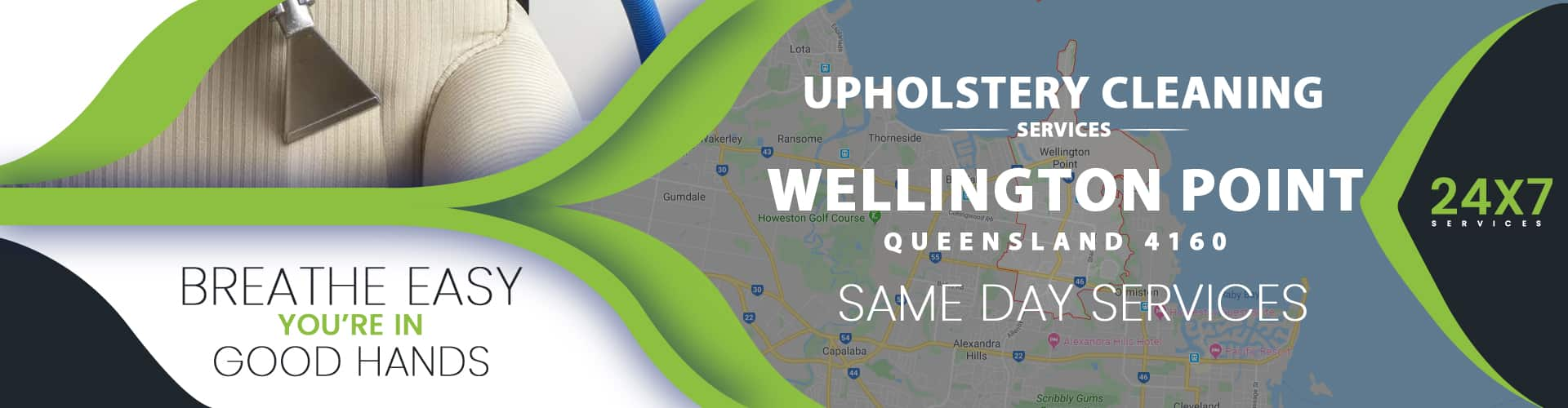 Upholstery Cleaning Wellington Point