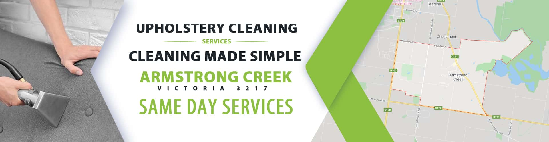 Upholstery Cleaning Armstrong Creek
