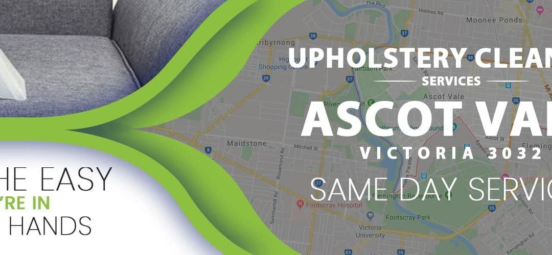 Upholstery Cleaning Ascot Vale