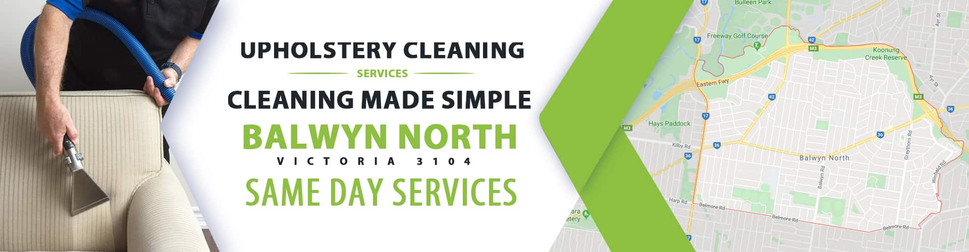 Upholstery Cleaning Balwyn North