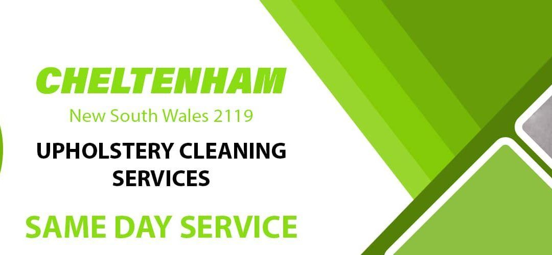 Upholstery Cleaning Cheltenham