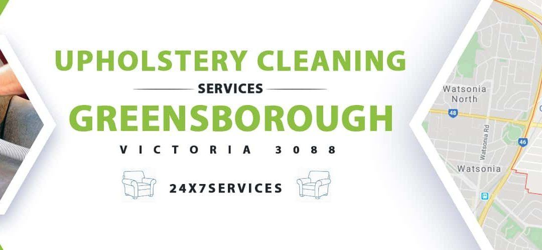 Upholstery Cleaning Greensborough