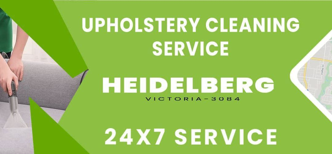 Upholstery Cleaning Heidelberg