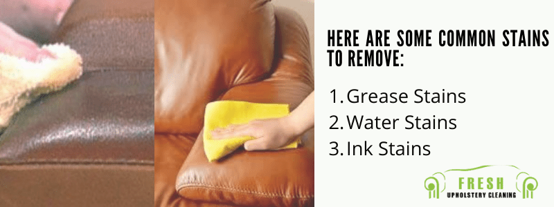 Leather Couch Stains to Remove