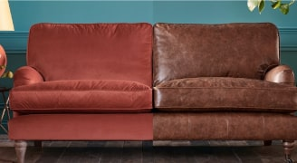 Leather and Fabric Lounge Cleaning